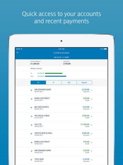 Download Barclays Online Banking App for iPad