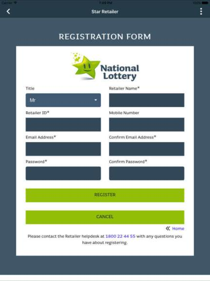 Download National Lottery App for iPad