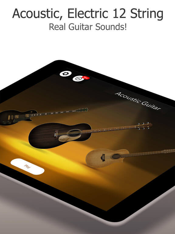 Download Guitar App for iPad