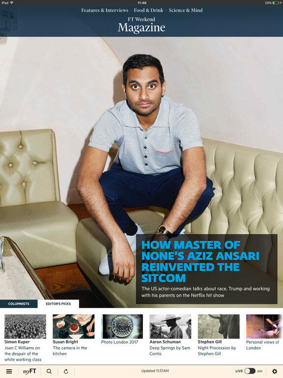 Download Financial Times App for iPad