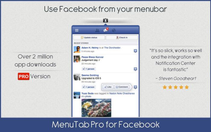 Download Facebook for Mac