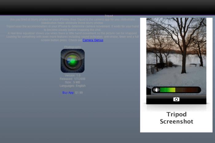Download Tripod for iPad