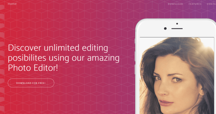 Download Photo Editor for iPad