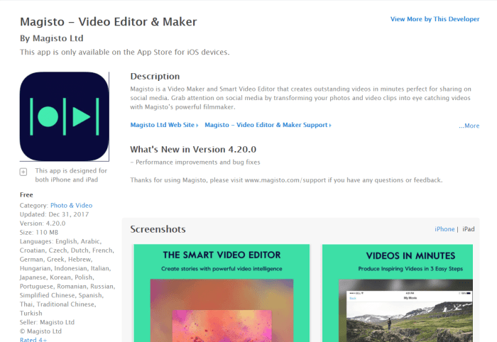 Video Editing App for iPad