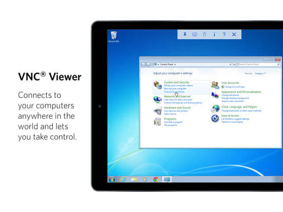 Download VNC for iPad