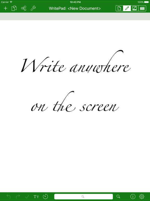 Download WritePad for iPad