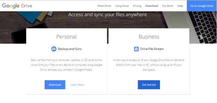 Download Google Drive for Mac