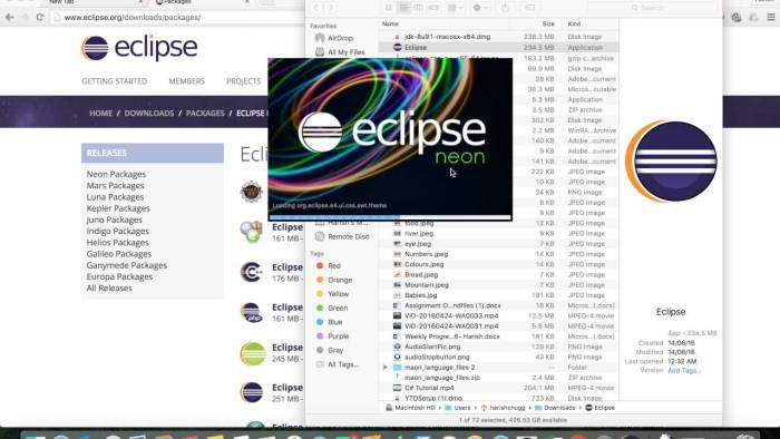 Download Eclipse for Mac