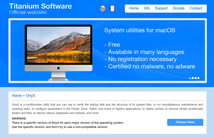 Download OnyX for Mac