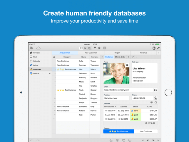 Download Database for iPad
