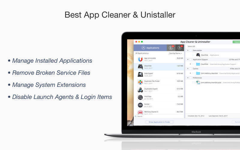 Download App Cleaner for Mac