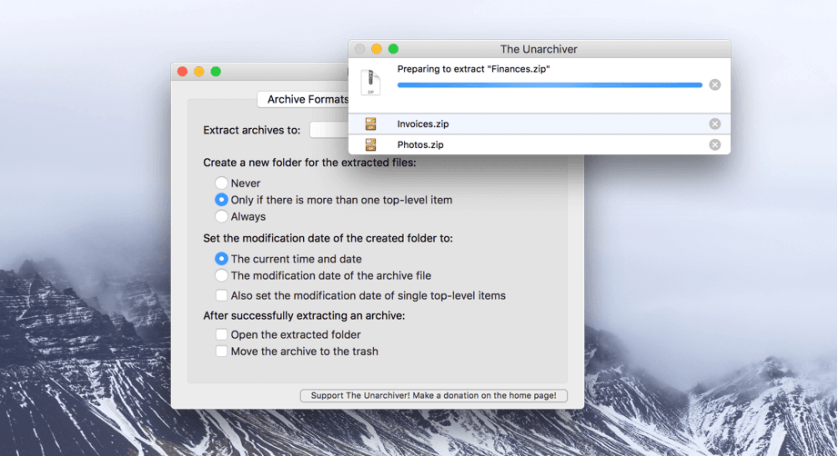 Download UnZip for Mac
