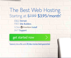 bluehost new year sale 2018