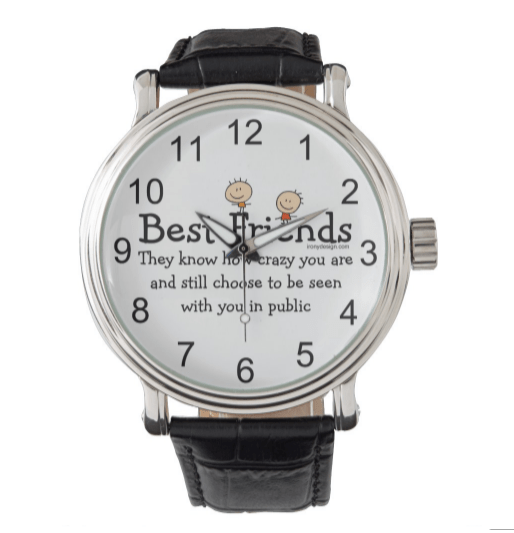 Best Friends Wrist Watch