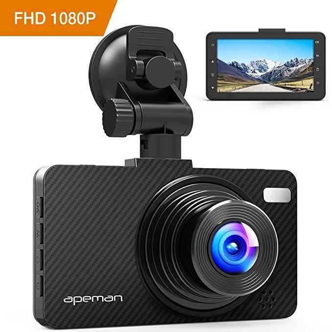 Apeman C450 Dash Cam Under $50