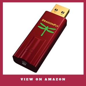 AudioQuest - DragonFly Red Best USB DAC Headphone Amplifier