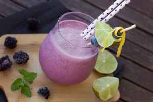 Strawberry Blueberry Smoothie