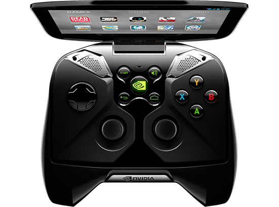 nvidia project shield - top-open-controls