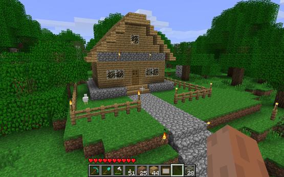 Regionen Minecraft.