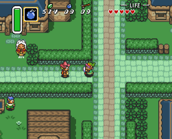 Zelda A Link to the Past snes games