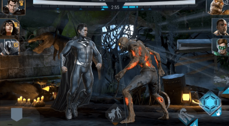 Injustice 2 fighting android game