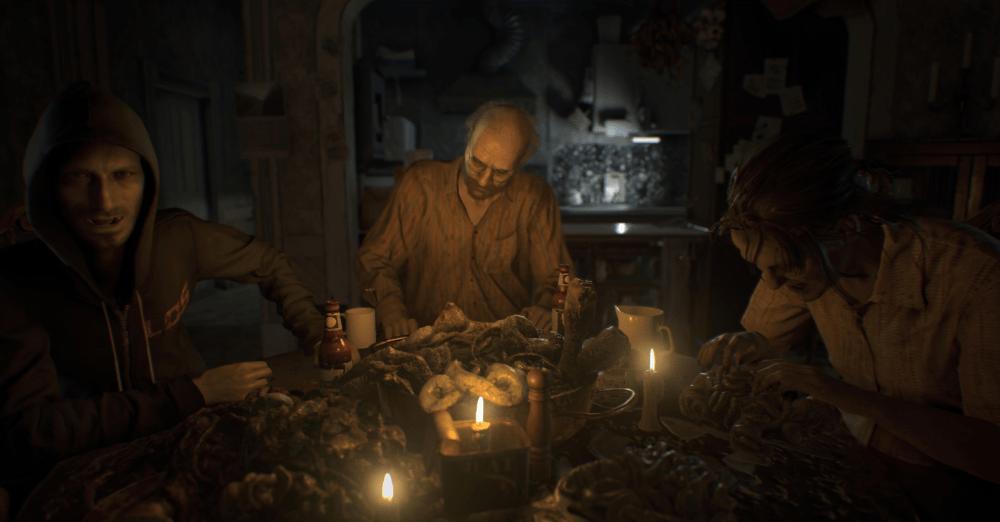 Resident Evil 7 on steam horror game