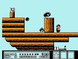 Super Mario Bros 3 nes game