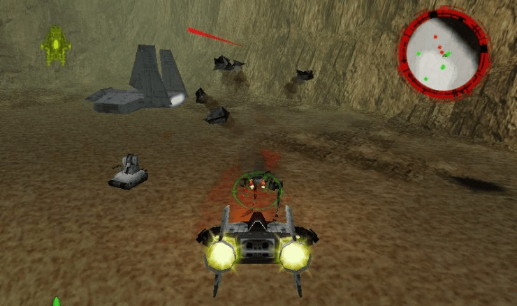 ROGUE SQUADRON star wars game