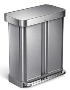 Best Stainless Steel Dual Compartment Trash Can