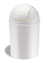 Umbra Mini Waste Can with Swing Lid