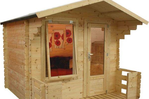 Walton's Mini Studio With Veranda Log Cabin Review
