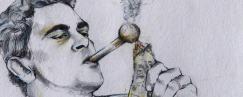 smoking crystal meth
