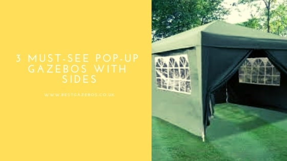 Pop-Up Gazebos With Sides