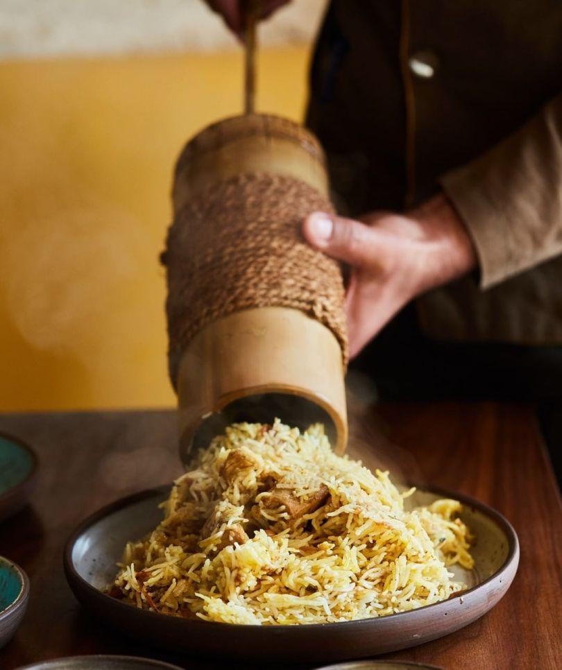 مطعم لافان الهندي