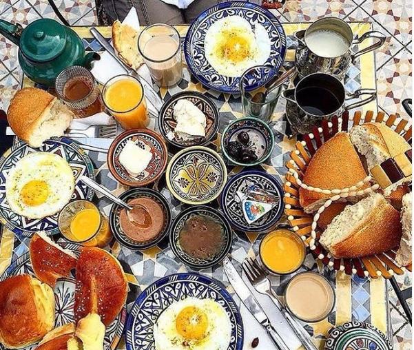 مطعم ومقهى البرواز المغربي الكويت