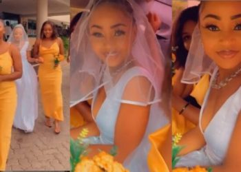 Revealed: Akuapem Poloo Is Not Married, Her Wedding Photos Were Shots From A Music Video