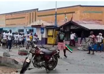 (Video) Several Injured In Clashes Between Party Supporters In Ghana