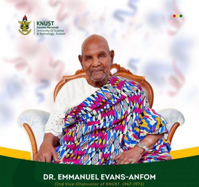 Dr. Evans-Anfom, Former KNUST VC Laid To Rest