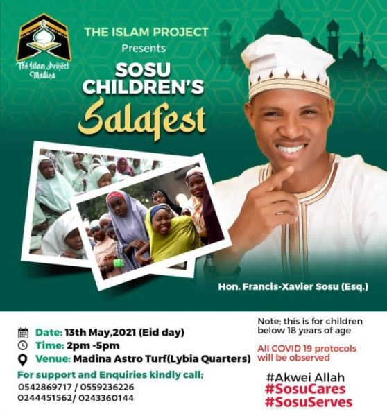 MADINA MP TO HOLD A FUNFAIR FOR THE MUSLIM KIDS TO BREAK FAST