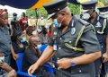 [Video & Photos] IGP Pays Visit To Late Emmanuel Osei's Family (Policeman Who Was Shot At Jamestown)