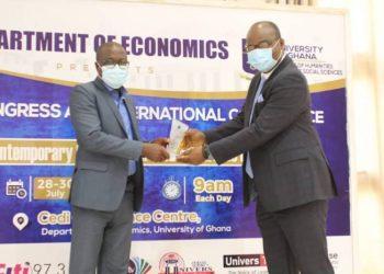 University of Ghana confers Alumni Award on Governor of Bank of Ghana