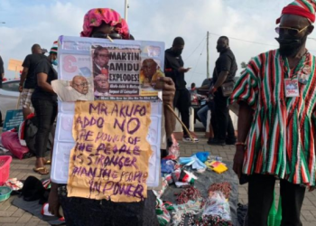 """NDC Storms Accra With A March Protest """"March For Justice"""""""