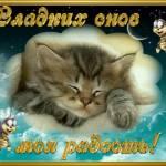 Пожелания доброй ночи - Спокойной ночи - анимационные картинки