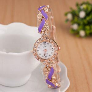 Crystal Bracelet Watch - Womens Crystal Bracelet Watch - Luxury Crystal Dress Watch – Beautiful Crystal Bracelet Watch – Best Gifts Gallery