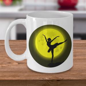 Moonlight Ballerina Mug - Ballet Mug - Ballerina Mug - Ballerina Moon Mug