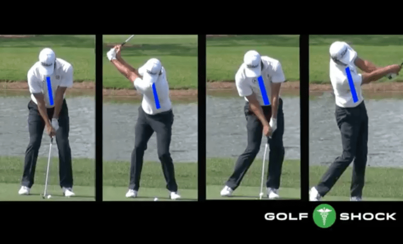 Spine Movement During The Golf Swing Golf Drills With