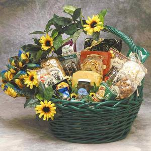 The Sunflower Treats gift basket product image