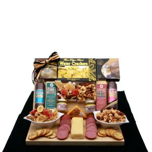Savory Selections Meat & Cheese Gourmet Gift Board image