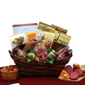 Gourmet Delights Gift Basket product image