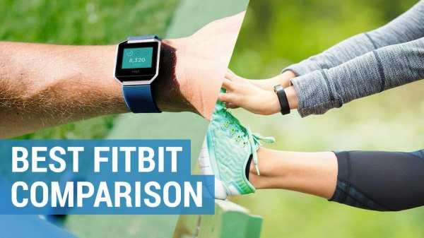 Best Fitbit Activity Tracker Comparison | Compare Fitbit ...